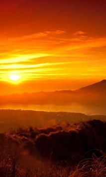 sun rise wallpaper poster