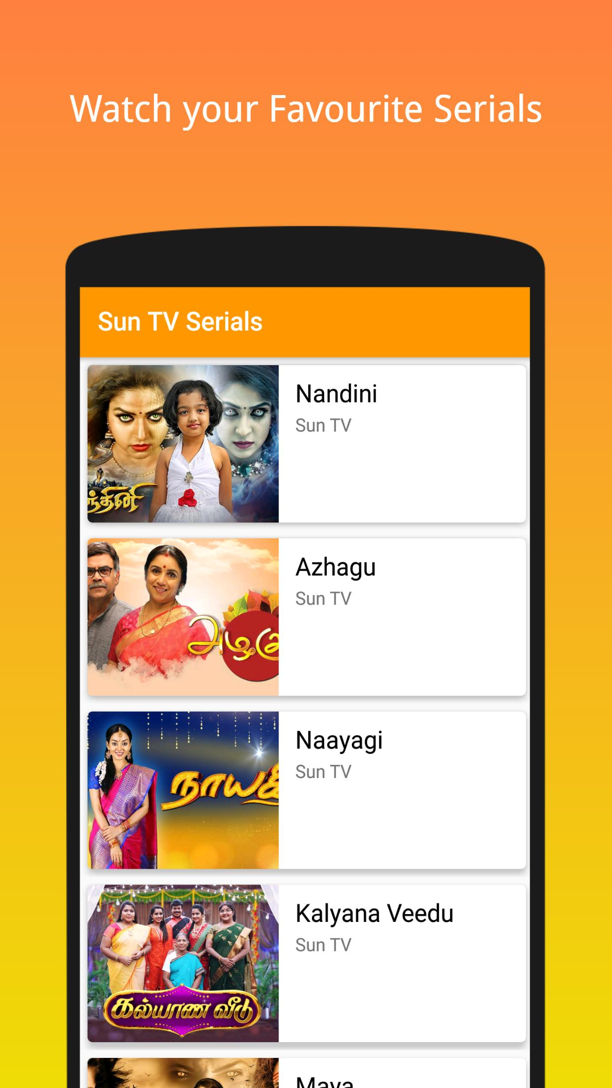 Sun TV Serials Tamil - 2018   FREE for Android - APK Download
