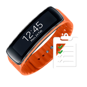 Schedule for Gear Fit icon