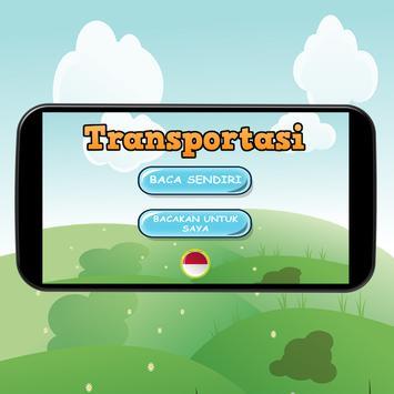Belajar Alat Transportasi poster