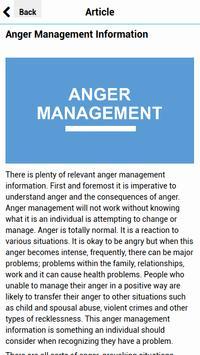 Anger Management Articles screenshot 1