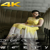 Sunny Leone 4K keyboard fans icon