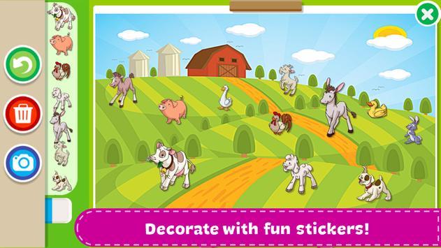 Раскраски для детей скриншот 9