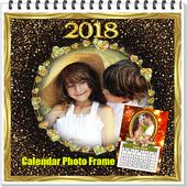 Calendar Photo Frame 2018 icon