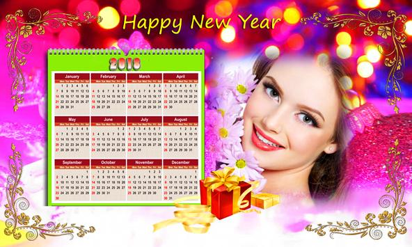 Calendar Photo Frames 2018 screenshot 5