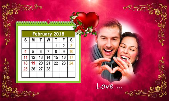 Calendar Photo Frames 2018 screenshot 9