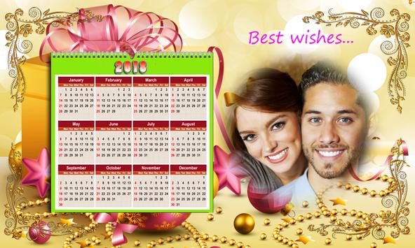 Calendar Photo Frames 2018 screenshot 14