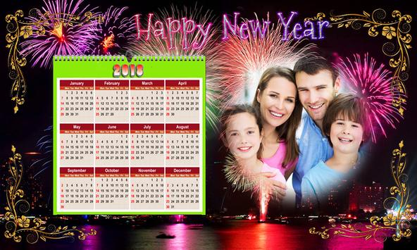 Calendar Photo Frames 2018 screenshot 23