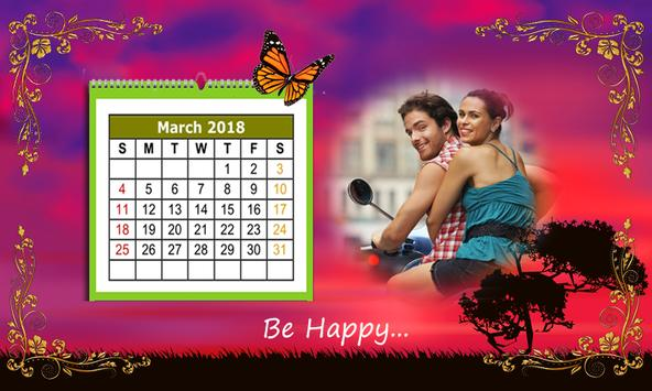 Calendar Photo Frames 2018 screenshot 2
