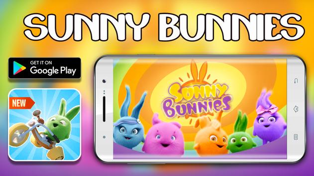 Free Sunny bunnies bike speed game poster