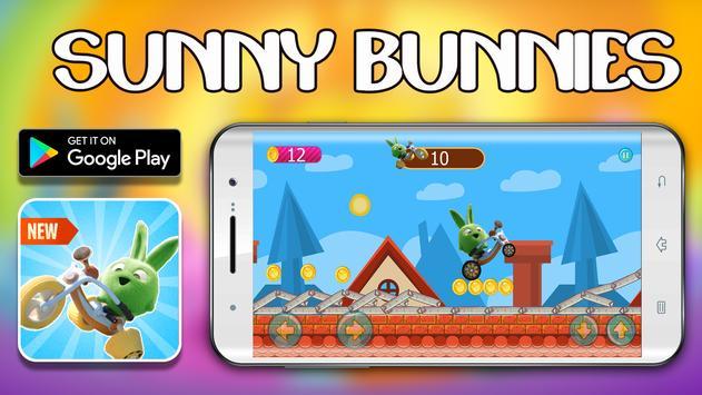Free Sunny bunnies bike speed game screenshot 3