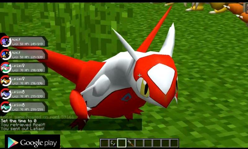 Pixelmon PE Mod for MCPE for Android APK Download