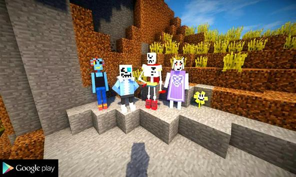 Undertale Mod for MCPE poster