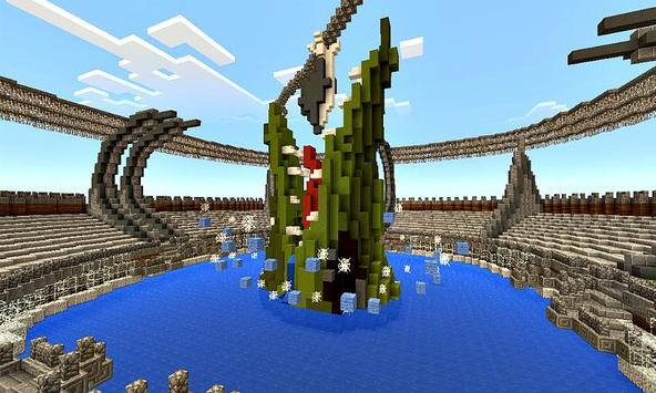 The Worlds Map Addon for MCPE poster