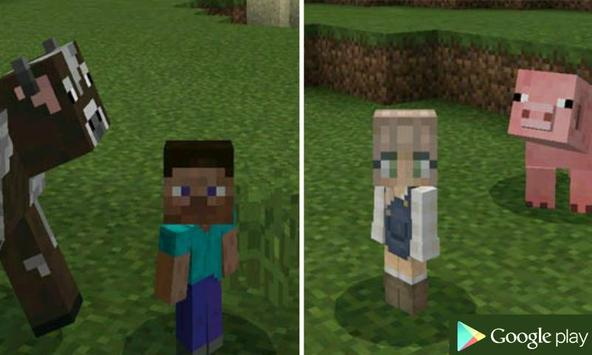 Baby Player Addon for MCPE poster
