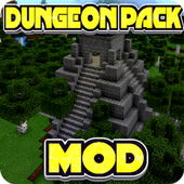 The Dungeon Pack Mod for MCPE icon