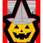 Origami Halloween icon