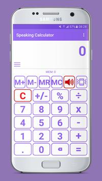 Speaking Calculator poster
