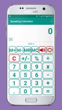 Speaking Calculator screenshot 1