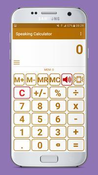 Speaking Calculator screenshot 2