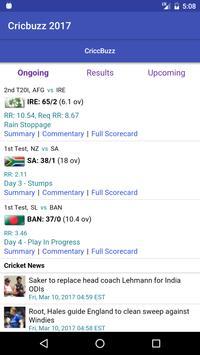 Live Cricket Score apk screenshot