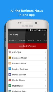 Philippine Business News 2.0 poster