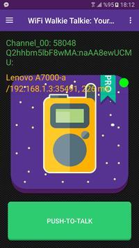 Wifi Walkie Talkie apk screenshot