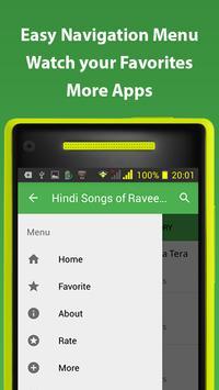 Hindi Songs of Raveena Tandon screenshot 1
