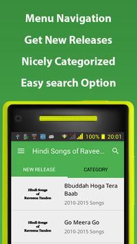 Hindi Songs of Raveena Tandon screenshot 3