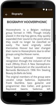 Hooverphonic Song&Lyrics. screenshot 4