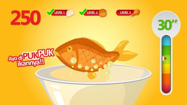 Puk puk : Dikit Nempel di Makanan screenshot 13