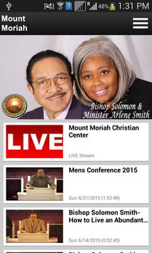 Mount Moriah Christian Center apk screenshot