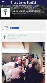 Cross Lanes Baptist Church apk screenshot