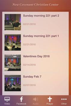 New Covenant Christian Center screenshot 1