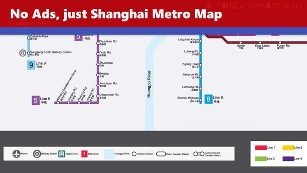 Shanghai Metro Map apk screenshot