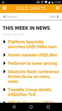 LPC Gold Sheets apk screenshot