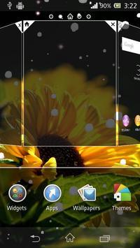 Sunflower live wallpaper apk screenshot