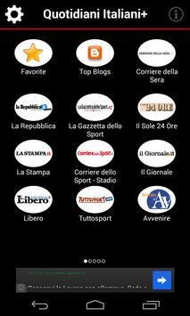 Quotidiani Italiani+ poster