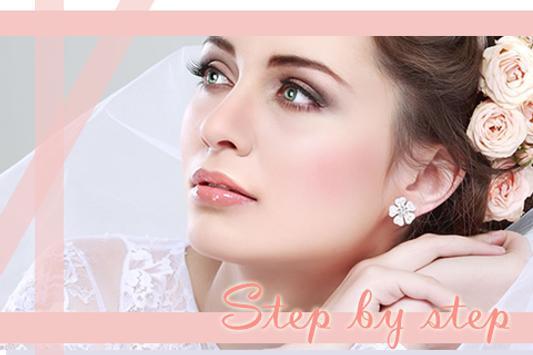 Wedding makeup tutorial poster