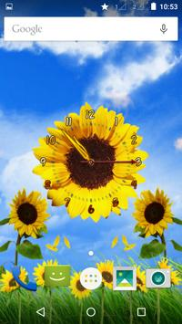 Sunflower Clock screenshot 4