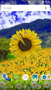 Sunflower Clock screenshot 1