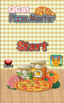 QCat - pizza master for kids poster