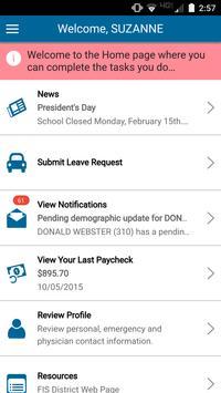 eFinancePLUS Employee screenshot 1