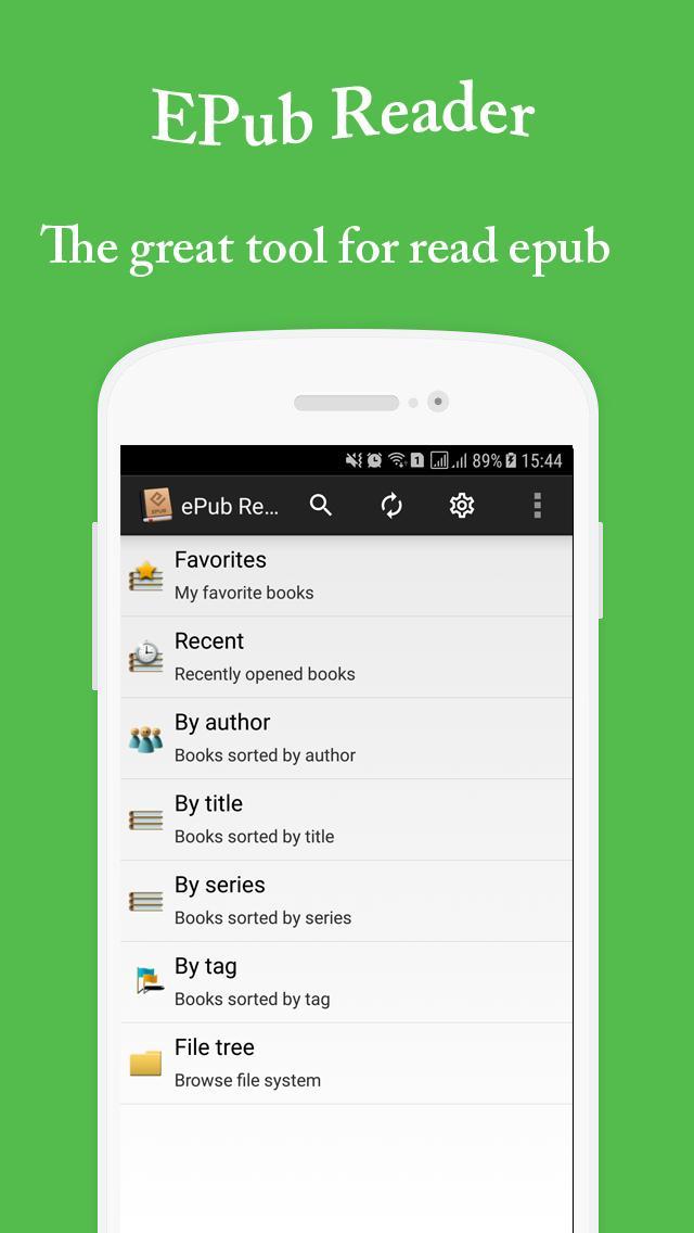 Epub Reader - Prc Reader - Kindle Reader for Android - APK