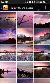 Pink sunset HD Wallpapers screenshot 1