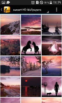 Pink sunset HD Wallpapers screenshot 3