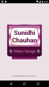 Sunidhi Chauhan Video Songs Affiche