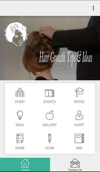 Hair Growth Tips & Ideas poster