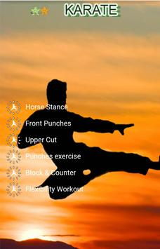 Karate Training and Exercises apk screenshot