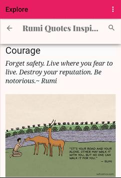 Rumi Quotes poster